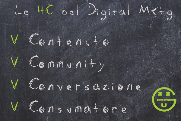 LE 4 C DEL MARKETING DIGITALE